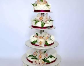 Tort ze storczykami (9)